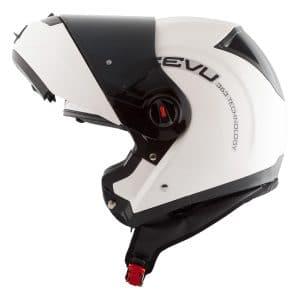 Reevu FSX1 White Flip Front helmet