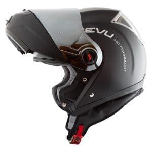 Reevu FSX1 Black Flip Front helmet